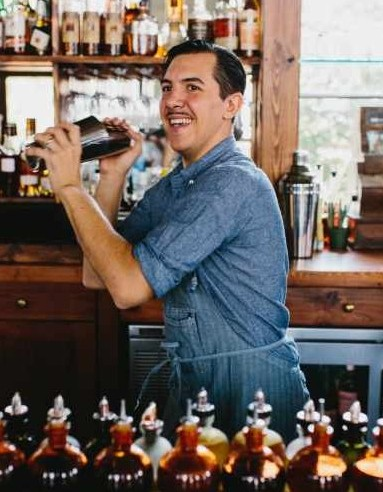 Cocktail Bar Manager Miles Macquarrie. Photo courtesy of Kimball House.